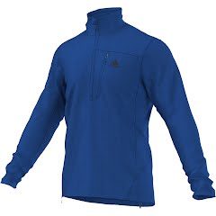 Adidas Outdoor Mens Hiking Reachout Pullover Half Zip Image