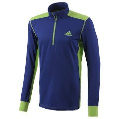 Adidas Outdoor Mens Winter Midlayer 1/2 Zip Image