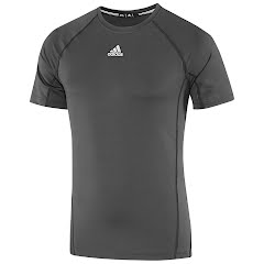 Adidas Mens Fitted Short Sleeve Shirt Image