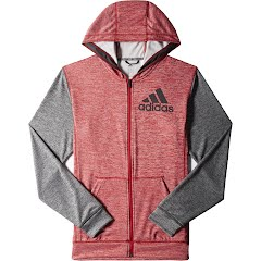 Adidas Mens Team Issue Lightweight Fleece Jacket Image