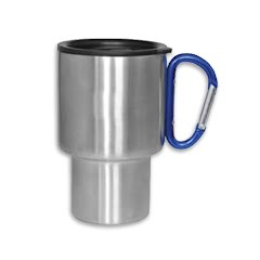 A.g.s. Labs Stainless Steel Carabiner Travel Mug Image
