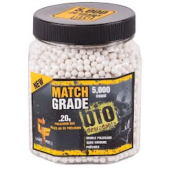 Crosman Game Face Match Grade Airsoft Ammo (.20) Image