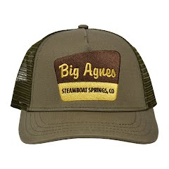 Big Agnes Men's Signage Trucker Hat Image