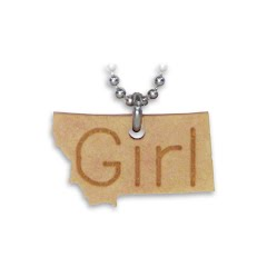 Benna Designs Montana Engraved Necklace Image