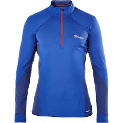 Berghaus Men's Thermal Long Sleeve Zip Neck Image