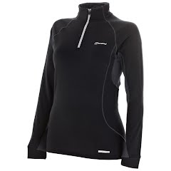 Berghaus Women's Active Thermal Long Sleeve Zip Neck Tee Image