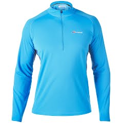 Berghaus Men's Long-Sleeve Zip-Neck Tech Tee Image