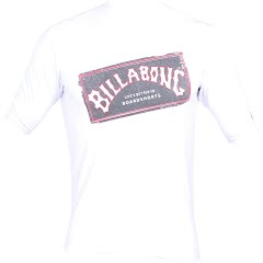 Billabong Boys Youth Iconic Short Sleave Rashguard Image