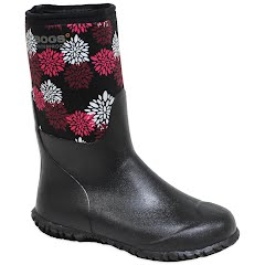Bogs Girl's Youth Range Print Winter Boots Image
