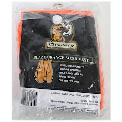 Breaux Blaze Orange Mesh Vest Image