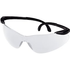 Champion Open Frame Ballistic Shooting Glasses (Black / Clear) Image