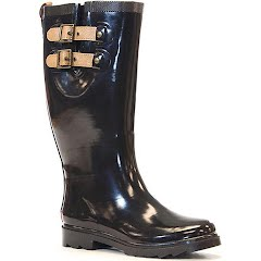 Chooka Women's Top Solid Rain Boots Image