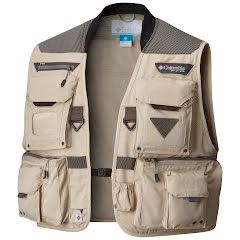 Columbia Men's PFG Henry's Fork V Fishing Vest Image