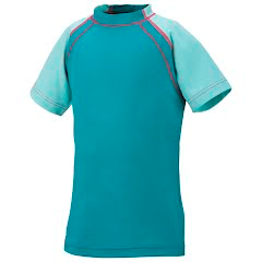 Columbia Girl's Youth Splasher Short Sleeve Top Image