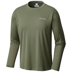 Columbia Men's PFG Zero Rules Long Sleeve Shirt (Big) Image