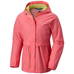 Columbia Youth Girl's Pardon My Trench Rain Jacket Image