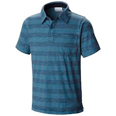 Columbia Boy`s Youth Lookout Point Polo Shirt Image