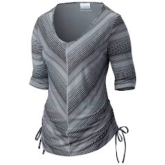Columbia Women`s Anytime Casual Stripe Tee Shirt Image