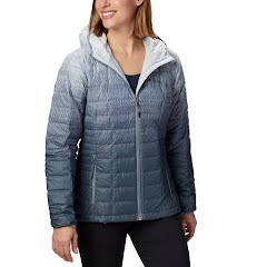 Columbia Women's Voodoo Falls 590 Turbodown Hooded Jacket (Extended Sizes) Image
