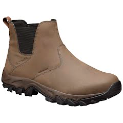 Columbia Men`s Newton Ridge Plus Waterproof Slip-On Shoes Image