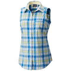 Columbia Women's PFG Super Harborside Woven Sleeveless Shirt Image