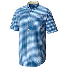 Columbia Men's Super Harborside Woven Short Sleeve Shirt Image