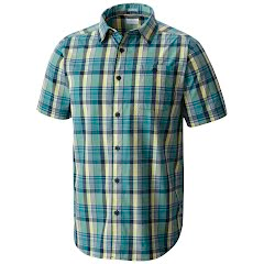 Columbia Men's Boulder Ridge Short Sleeve Shirt (Tall Extended Sizes) Image