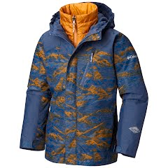 Columbia Boy's Youth Whirlibird II Interchange Jacket Image