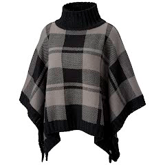 Columbia Women's Be Cozy Sweater Poncho (Extended Sizes) Image