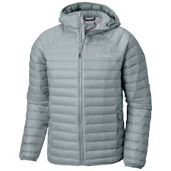 Columbia Men's Alpha Trail Down Hooded Jacket Image