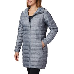 Columbia Women's Lake 22 Down Long Hooded Jacket Image