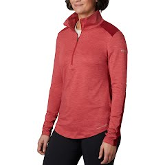 Columbia Women's Place to Place 1/2 Zip Shirt Image