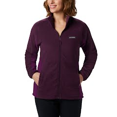 Columbia Women's Basin Trail Fleece Full Zip Top Image