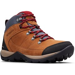 Columbia Women's Fire Venture II Suede Waterproof Ankle Boots Image