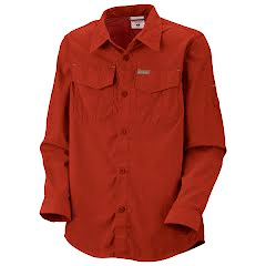 Columbia Boys Toddler Silver Ridge II Long Sleeve Shirt Image