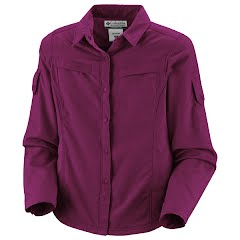 Columbia Youth Girl's Silver Ridge Long Sleeve Shirt Image