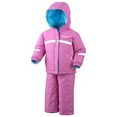 Columbia Girls Infant Brooklyn Reversible Snow Set Image