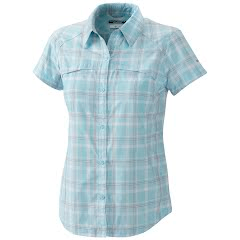Columbia Women's Silver Ridge Multi Plaid Short Sleeve Shirt Image