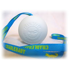 Cradlebaby Lacrosse Special Edition Ball and Lanyard Image