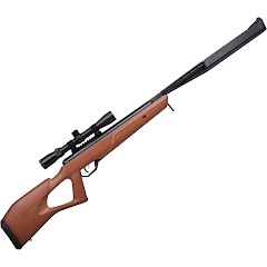 Crosman Trail NP Elite Stealth Wood (.22) Air Rifle with 3-9x32mm Scope Image