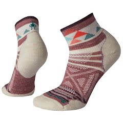 Smartwool Women's PhD Outdoor Light Pattern Mini Hiking Socks Image