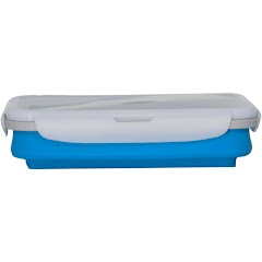 Eco Vessel Collapsible Silicone Single Compartment Lunchbox Image