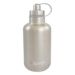 Eco Vessel BOSS Insulated Stainless Steel Beer Growler Bottle With Tea And Fruit Infuser Image
