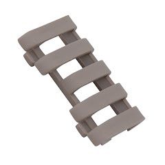 Ergo Grips 5 Slot Lowpro Wire Loom Rail Covers Image