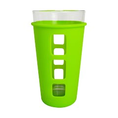Eco Vessel Vibe Pint Glass With Silicone Sleeve Image