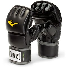Everlast Vinyl Wristwrap Heavy Bag Gloves Image