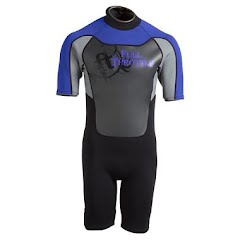 Full Throttle Adult Shorty Wetsuit Image