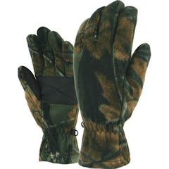 Grand Sierra Men`s Camo Sport Fleece Gloves Image