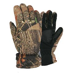 Grand Sierra Men`s Highland Forest Brushed Tricot Snow Gloves Image