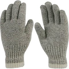 Grand Sierra Men's Ragg Wool Unlined Gloves Image